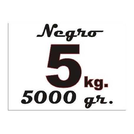 Garrafa de 5 Kg. tinta colorante negra para Epson