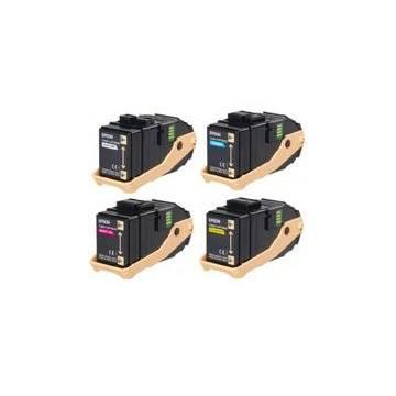 Amarillo reciclado para Epson Aculaser c9300 serie 7.5ks050602
