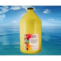 4 recargas en una botella de toner amarillo brillo 1000 gr. para Oki C810 Oki C830