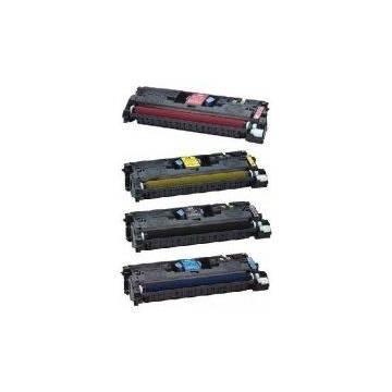 HP 641A tóner negro reciclado para Hp color 4600 4650 y Canon lbp 2500 2510 9k