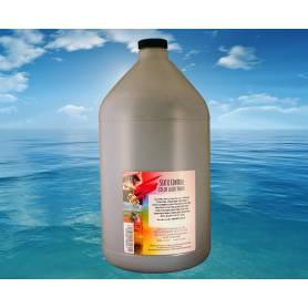4 recargas en una botella de toner negro brillo 1000 gr. para Oki C810 Oki C830