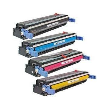 HP 645A tóner negro reciclado para Canon lbp 2710 2810 Hp color 5500 5550 11k HP C9730A