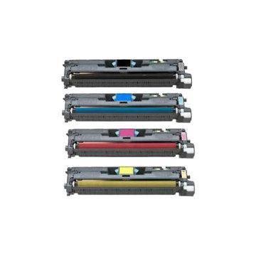 HP 122A tóner reciclado magenta Hp laser color 1500 2500n 2550 lbp5200 4k q3963a