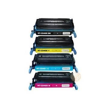 HP 642A tóner cian reciclado Hp color cp4005n cp4005dn. 7.5k HP CB401A