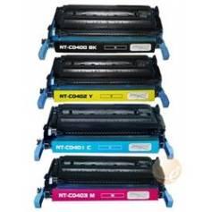 Cyan Toner regenerado HP Color CP 4005N, CP 4005DN. 7.500P