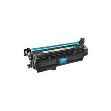 HP 646A tóner cian reciclado Hp cm4540 mfp cm4540f mfp cm4540fskm mfp. 12.5k HP CF031A