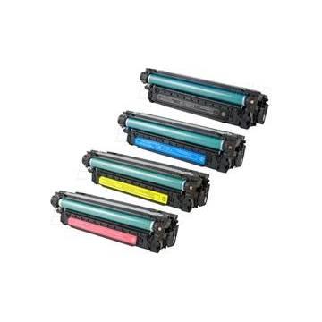 HP 504X tóner negro reciclado Hp cp3530 cp3525 x lbp7750 10.5k ce250x Canon 723