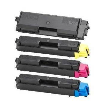 Amarillo compatible para Kyocera ecosys p7040cdn 12k 1t02ntanl0