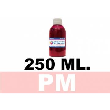 250 ml. tinta magenta claro colorante para cartuchos photo para Hp