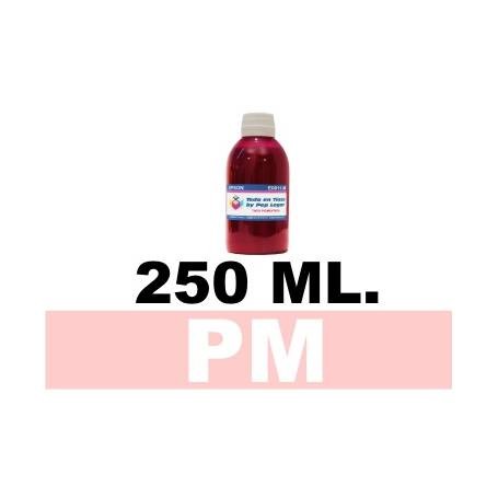 250 ml. tinta magenta claro colorante para cartuchos photo HP