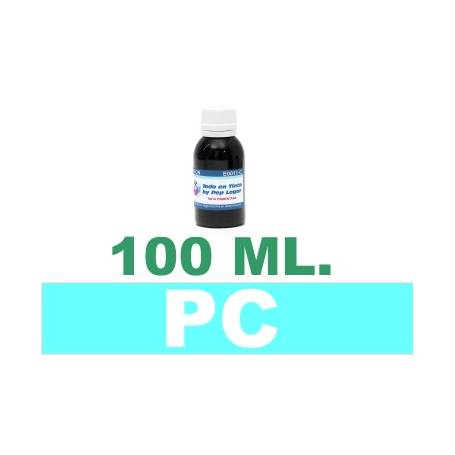 100 ml. tinta cian claro colorante para cartuchos photo HP