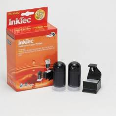 Mini kit de recarga InkTec cartuchos para Canon pg 540 540xl negro 20ml x 2