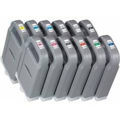 Amarillo compatible Canon ipf8300 ipf8400 ipf9400 700ml 6684b001
