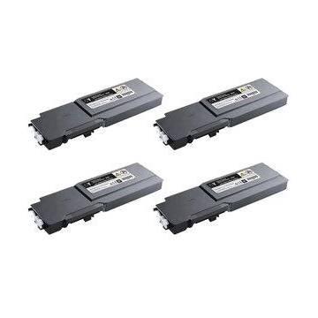 Amarillo compatible para Dell c3760n 3760dn 3765dnf 9k 593 11120