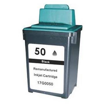 25ml reciclado Lexmark jetprinter z12 22 32 negro 50