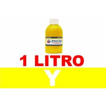 1 l. tinta amarilla colorante para cartuchos para Hp