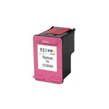 HP 901XL 15ml color reciclado para j4524 j4535 j4580 j4624 j4660 j468 cc656ae