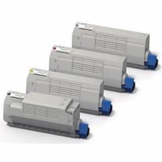 Cartucho tóner cian para OKI MC853dnct MC873dnct MC873dnv -10K 45862839