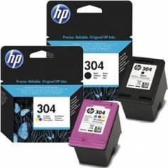 Maxi kit pro para Hp 304 recarga cartuchos tinta negro y color