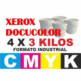 Para Xerox DocuColor 240 242 250 252 260 7655 recargas tóner cmyk 12 kg.