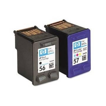 Maxi Kit Pro para Hp 21 para HP 27 para Hp 56 para HP 22, para Hp 28, para Hp 57 recargas negro y color