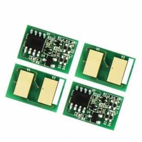Para Oki C532 C542 MC563 MC573 Chip negro alta capacidad