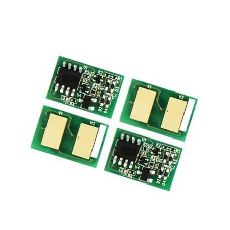 Para Oki C532 C542 MC563 MC573 Chip amarillo alta capacidad