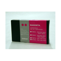 Magenta 220ml pigmentada compatible Epson pro7400 7450 9400 9450 c13t612300