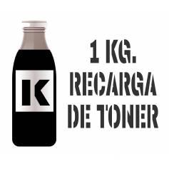 1 kilo Para Samsung color botella tóner negro