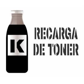 Recargas de tóner específico para cartucho Brother TN2000 tres botellas de tóner