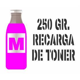 Para Hp color tóner premium para rellenar cartuchos, magenta 250 gr.