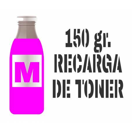 Para Oki C532 C542 MC563 MC573 recarga tóner magenta 150 gr.
