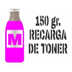 3 recargas de tóner premium magenta brillo 150 gr. para Oki c5650 para Oki c5750
