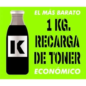 Toner económico Oki Intec Xanté negro 1 Kg.