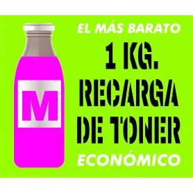 Toner económico Oki Intec Xanté magenta 1 Kg.