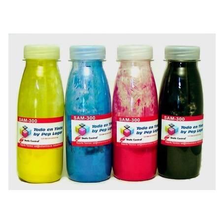 Samsung CLP-360 CLP-365 recargas de toner 4 botellas de toner cmyk