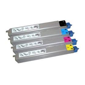 Intec cp2020 cartucho tóner económico reciclado color cian 15.000 páginas