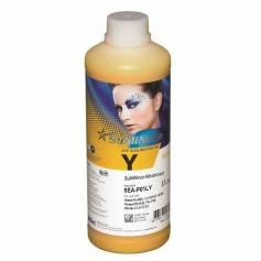1 Litro de tinta de sublimacion Sublinova advanced amarilla para plotters 42 pulgadas