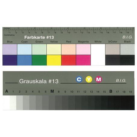 Cartas de color para calibración de prensas digitales Xerox