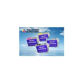 16 xl 4 cartuchos compatibles recargables autoreseteables transparentes WF-2750DWF WF-2760DWF