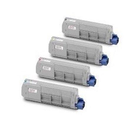 Cartucho Cian reciclado OKI C824 C834 C844 5K 47095703