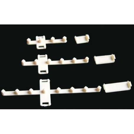 CISS repuesto anclaje de cartuchos y tubos para 8 tubos