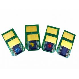 Oki C301 C321 MC332 MC342 chip para recarga de toner amarilo