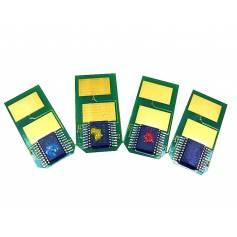 Para Oki es3451mfp es5430dn es5461mfp chip recarga tóner amarillo 5000 copias