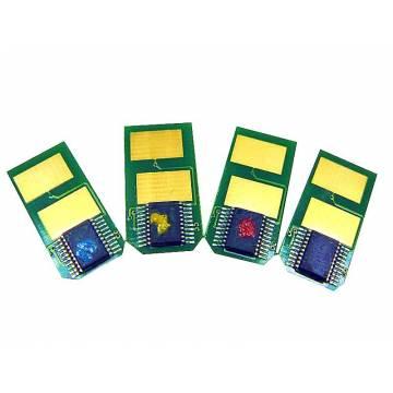 Para Oki es3451mfp es5430dn es5461mfp chip recarga tóner cian 5000 copias