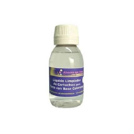 Líquido limpiador de inyectores para tinta colorante, 250 ml.