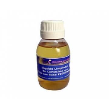 Líquido limpiador de inyectores para tinta pigmentada 250 ml.