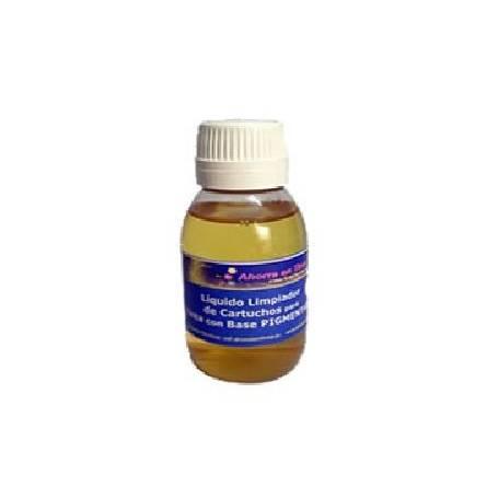 Líquido limpiador de inyectores para tinta pigmentada, 250 ml.