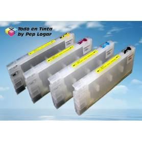 T544X 8 cartuchos recargables Epson Stylus Pro 4000 C4