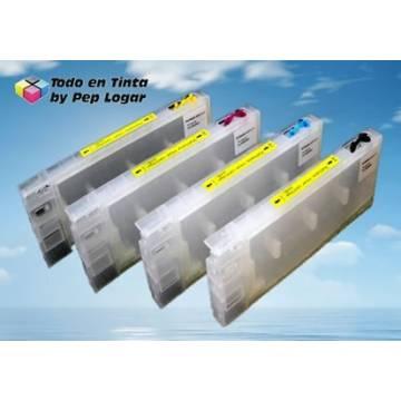 T544x 8 cartuchos recargables Stylus pro 4000 c4